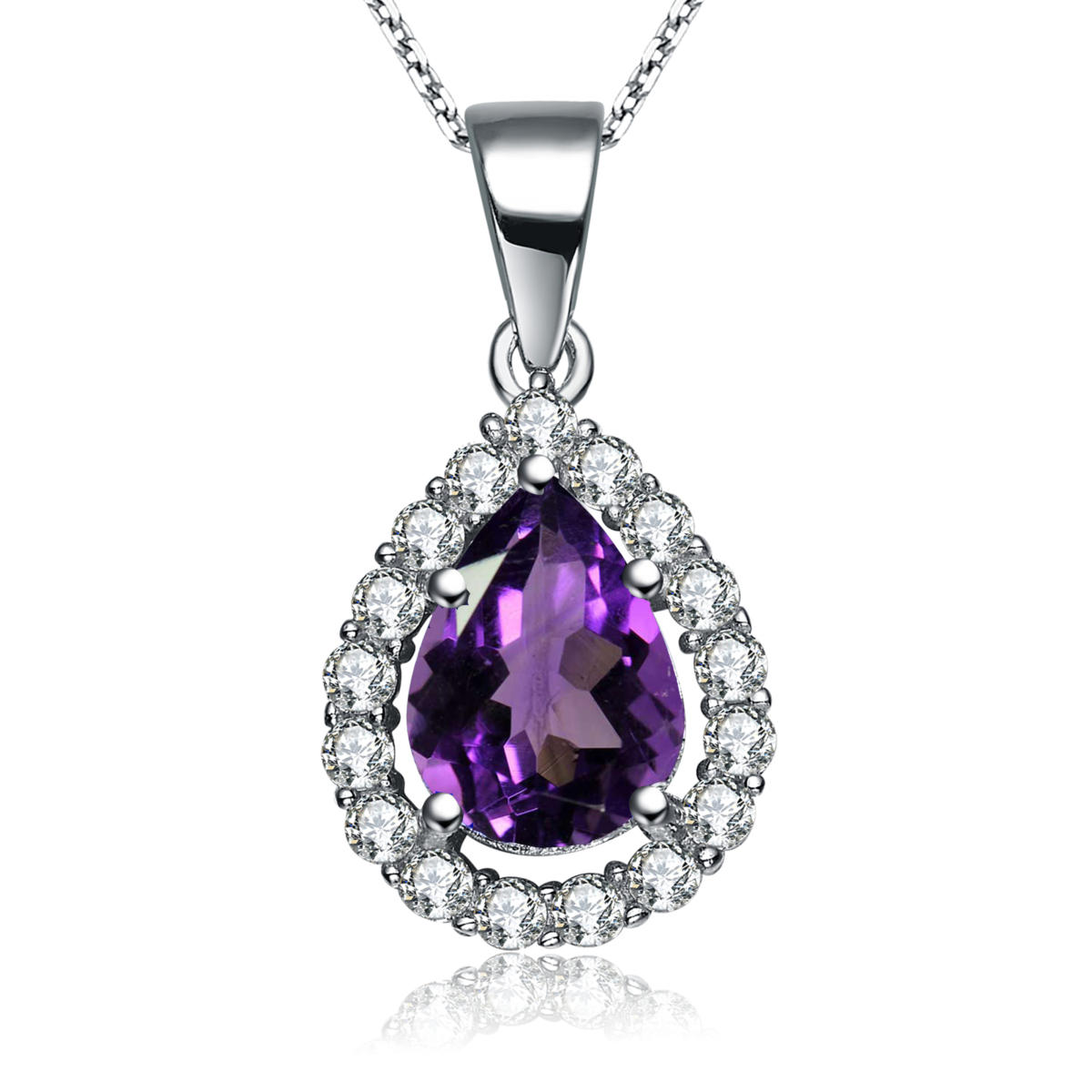 pendant bezel with shape in mounting silver bail sterling x pear product and